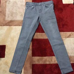 Pacsun Skinny Gray Jeans